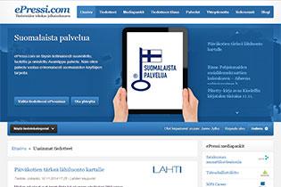 ePressi.com – ammattimainen tiedotejakelukanava