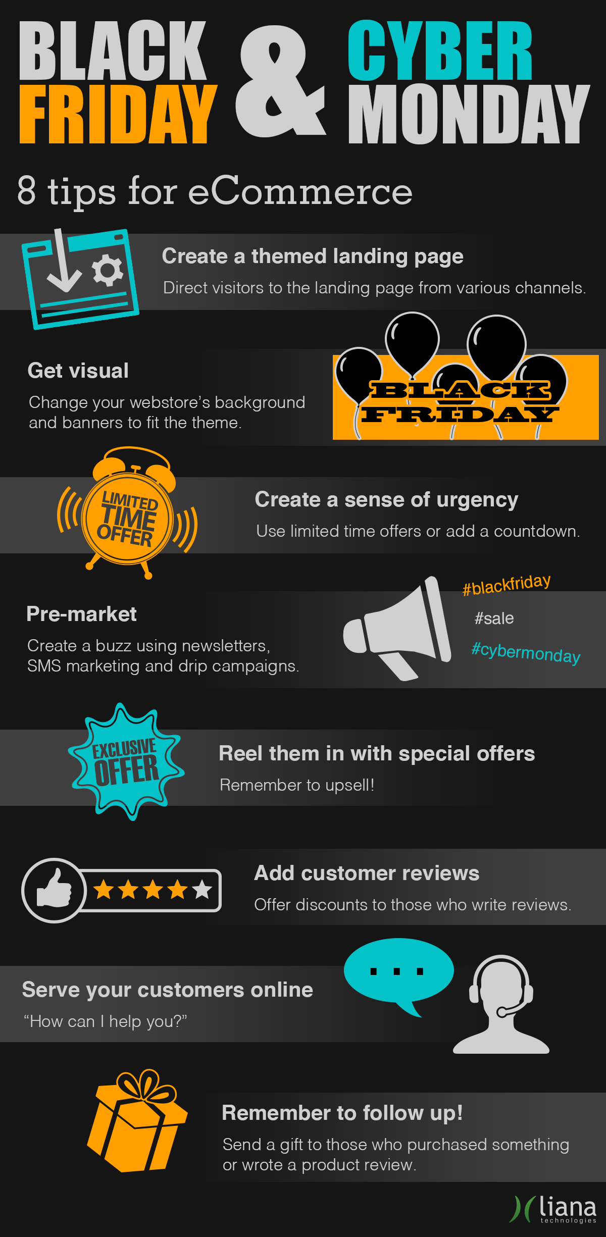 8 tips for eCommerce: how to take full advantage of Black Friday and Cyber Monday?