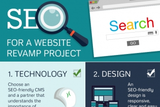 Before, after and during: SEO checklist for website revamp [Infographic]