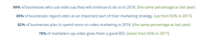 Video marketing study by Wyzol