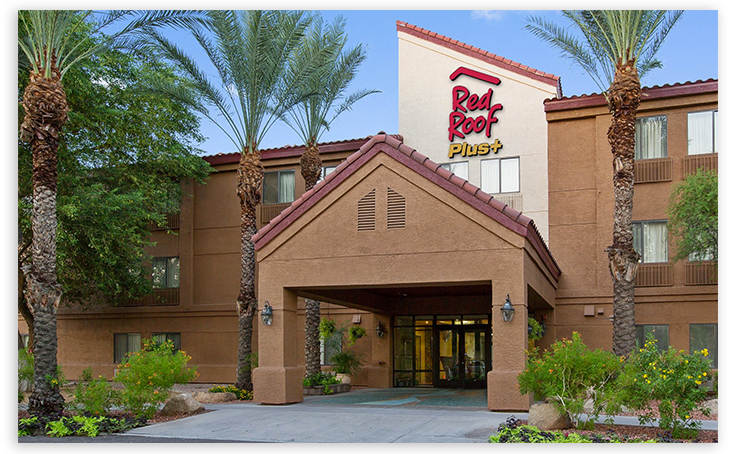 The US hotel chain Red Roof Inn