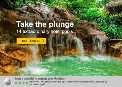 Hotel pool suggestions from Tripadvisor.
